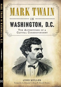 Mark Twain in Washington, DC by John Muller