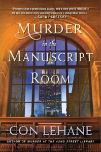 Murder in the Manuscript Room by Con Lehane